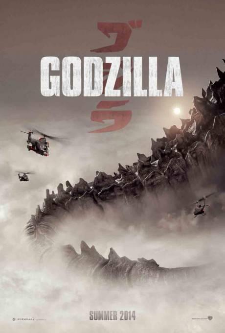Poster ufficile di Godzilla