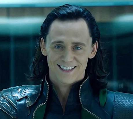 Tom Hiddleston nella parte di Loki (Thor: The Dark World)