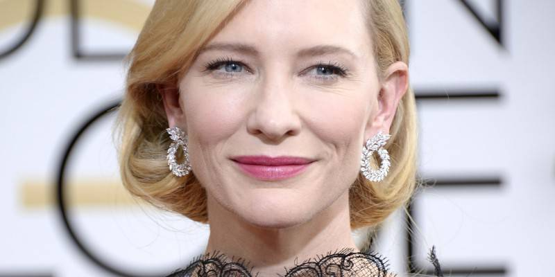BEVERLY HILLS, CA - JANUARY 12:  71st ANNUAL GOLDEN GLOBE AWARDS -- Pictured: Actress Cate Blanchett arrives to the 71st Annual Golden Globe Awards held at the Beverly Hilton Hotel on January 12, 2014 --  (Photo by Kevork Djansezian/NBC/NBC via Getty Images)