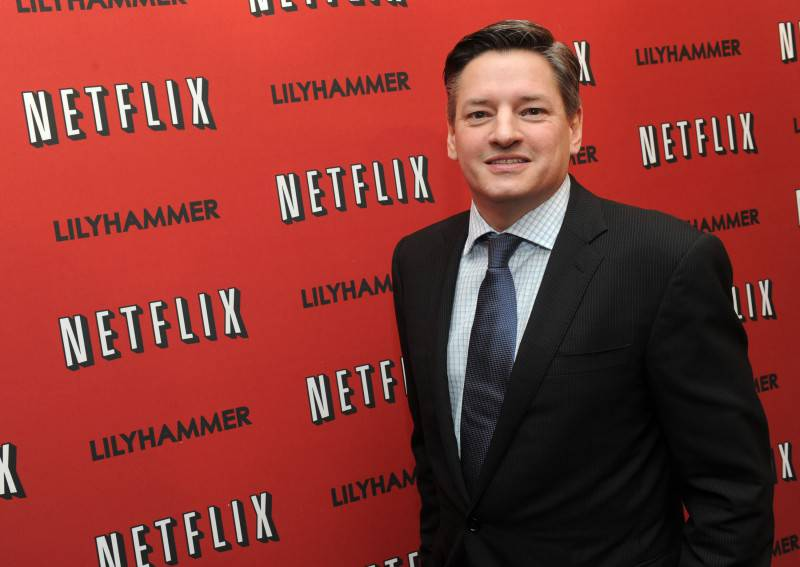 """NEW YORK - FEBRUARY 01:  Netflix Chief Content Officer Ted Sarandos attends the North American Premiere Of """"Lilyhammer"""", a Netflix Original Series at Crosby Street Hotel on February 1, 2012 in New York City.  (Photo by Jason Kempin/Getty Images for ID-PR)"""