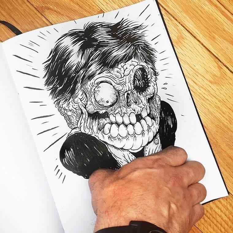 Alex solis continua a fare a botte con i suoi disegni - Dessin interactif ...