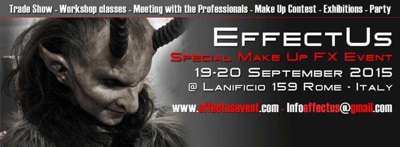 Primo evento italiano di Special makeup effects