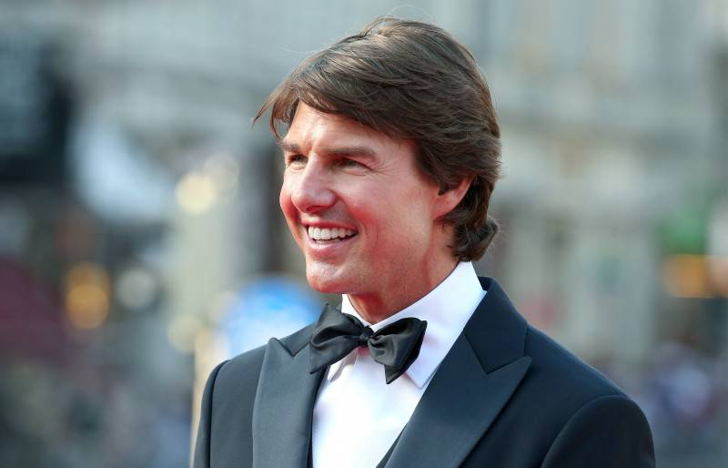 VIENNA, AUSTRIA - JULY 23:   (EDITORS NOTE: This image has been digitally manipulated) Tom Cruise attends the world premiere of 'Mission: Impossible - Rogue Nation' at the Opera House (Wiener Staatsoper) on July 23, 2015 in Vienna, Austria.  (Photo by Gisela Schober/Getty Images for Paramount Pictures International)