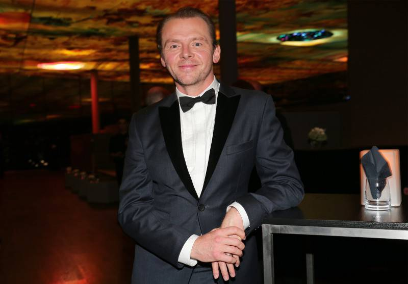 VIENNA, AUSTRIA - JULY 23:  Simon Pegg attends the afterparty for the world premiere of 'Mission: Impossible - Rogue Nation' at Sofitel Hotel Vienna on July 23, 2015 in Vienna, Austria.  (Photo by Gisela Schober/Getty Images for Paramount Pictures International)