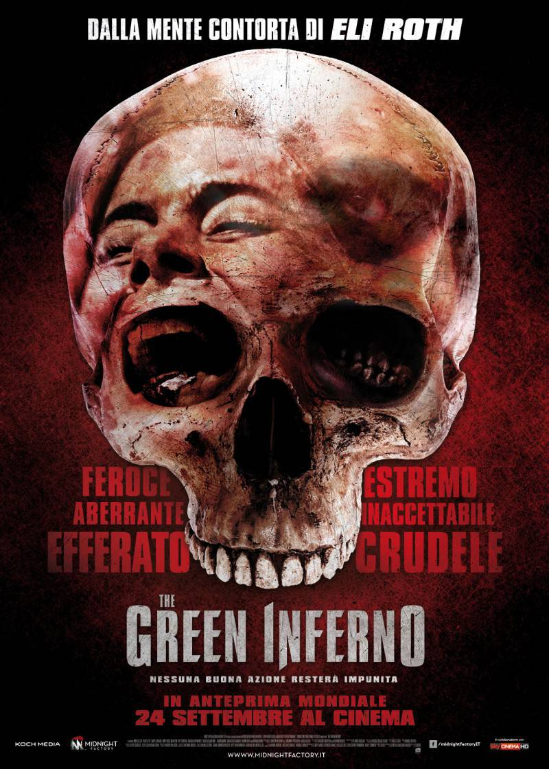 The Green Inferno - poster ITA