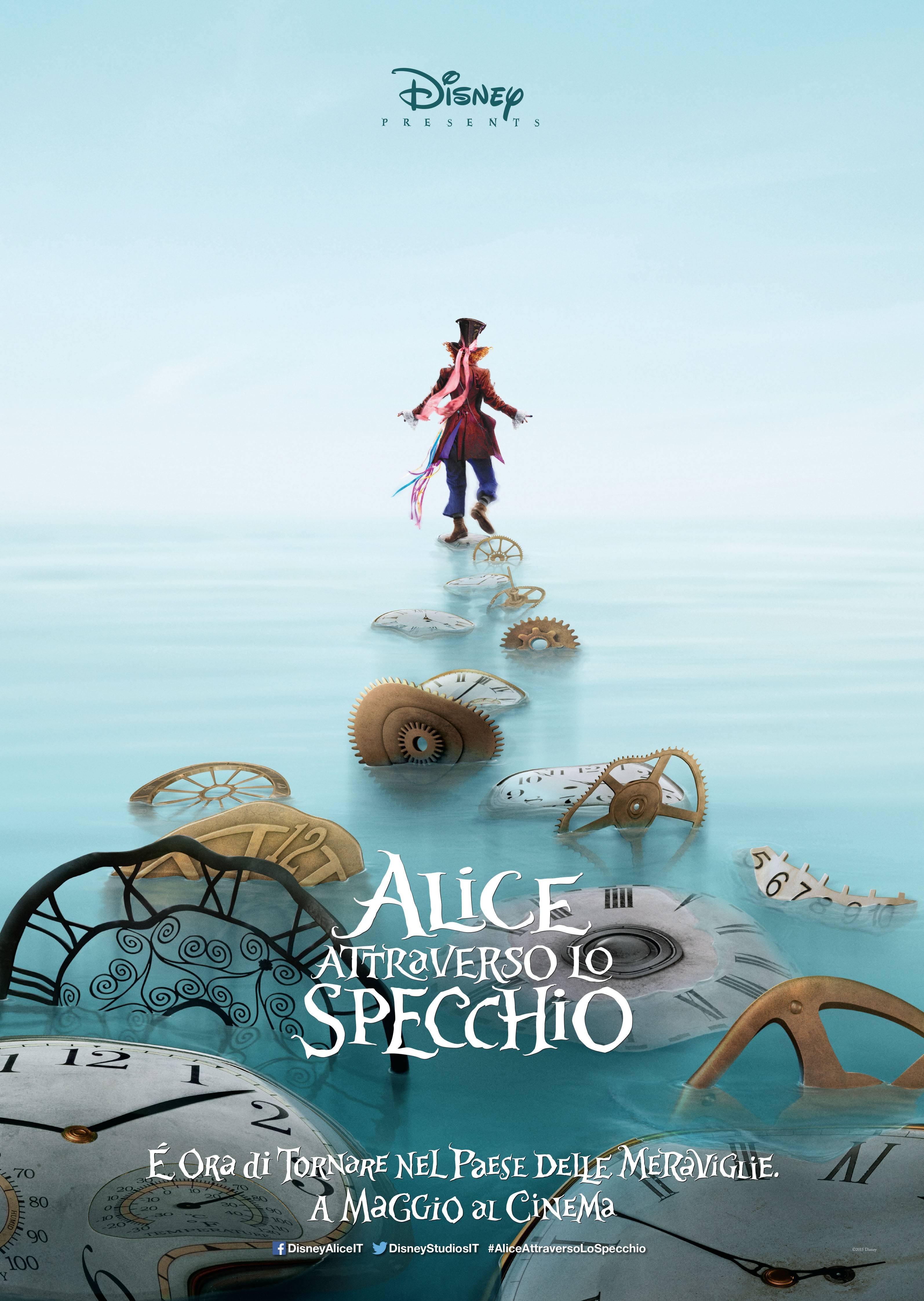 Alice attraverso lo specchio poster e teaser trailer - Cast alice attraverso lo specchio ...
