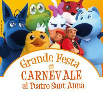 6-7 Febbraio  Festa di Carnevale al T. Sant'Anna