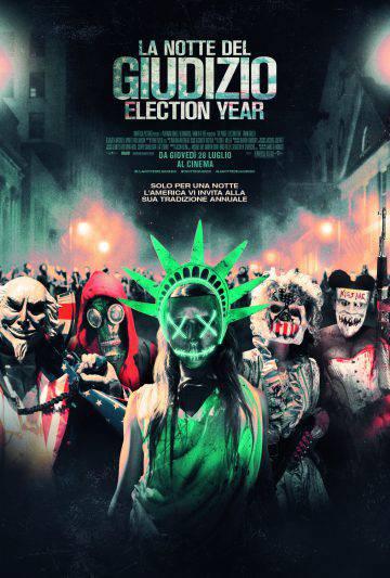 La notte del giudizio Election year