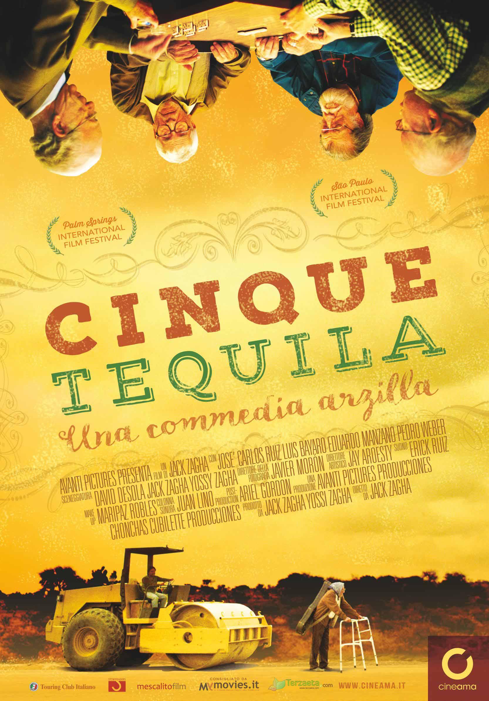 locandina Cinque Tequila low