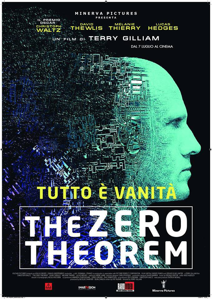 "Christoph Waltz in ""The Zero Theorem"": poster e trailer ..."