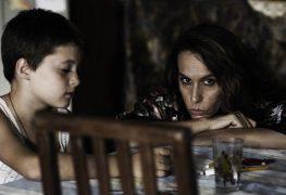 L'atrice Eva Basteiro (madre di Coco) sul set dello Spin off di Parvus insieme al piccolo protagonista Flavio (Coco bambino nel film)