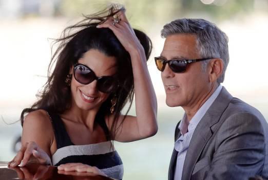 George Clooney, Amal: cena romantica nel centro di Roma