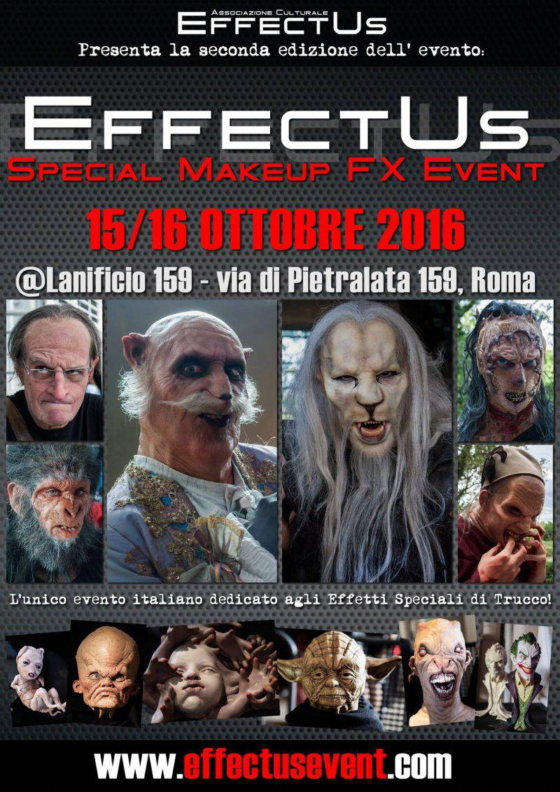 """Effectus 2016"": la seconda edizione dell' unico evento italiano di special make-up effects - YouMovies.it"
