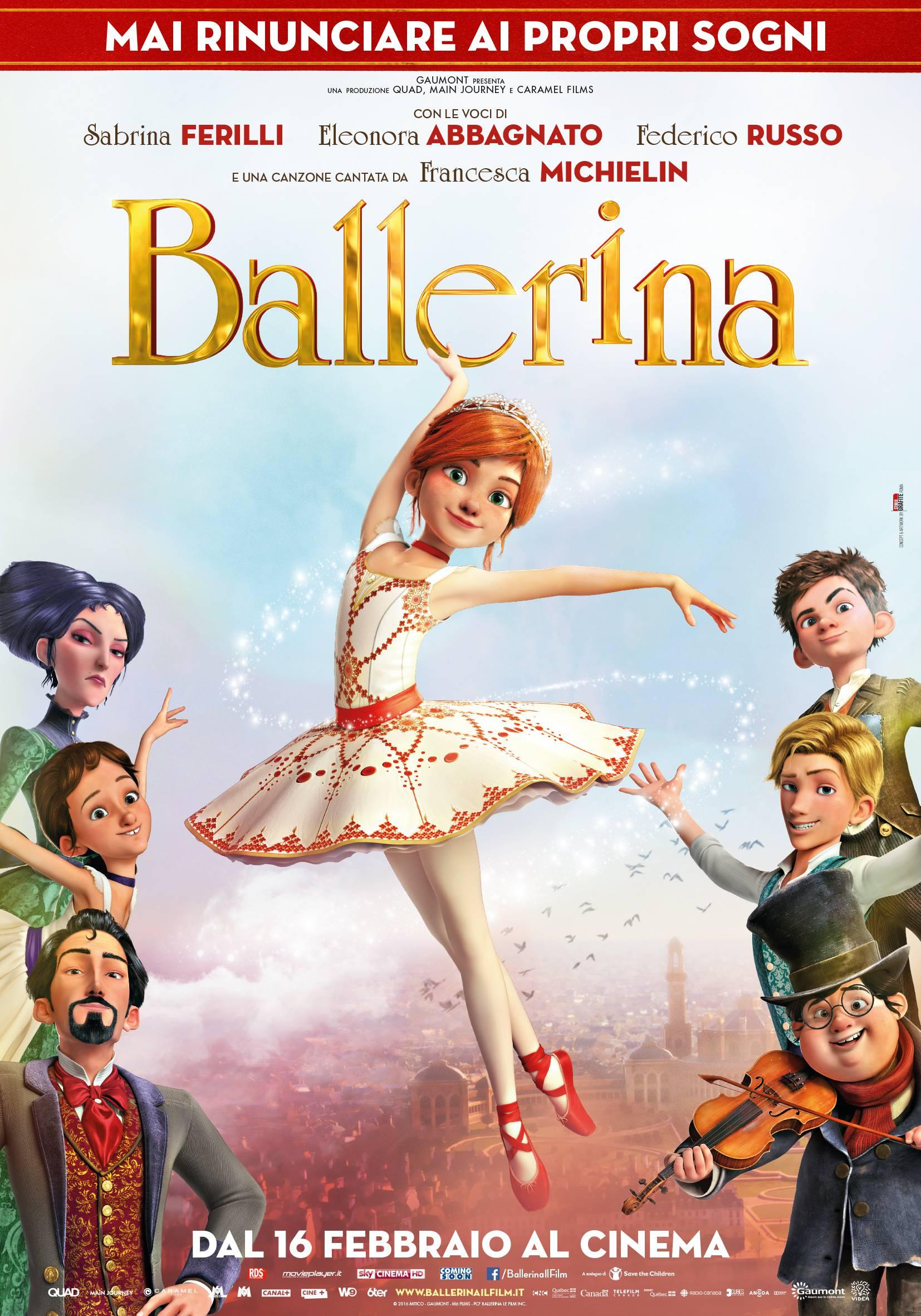 Quot ballerina il film d animazione dedicato alla danza che