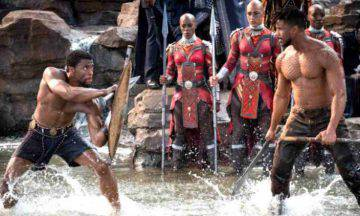black panther trama