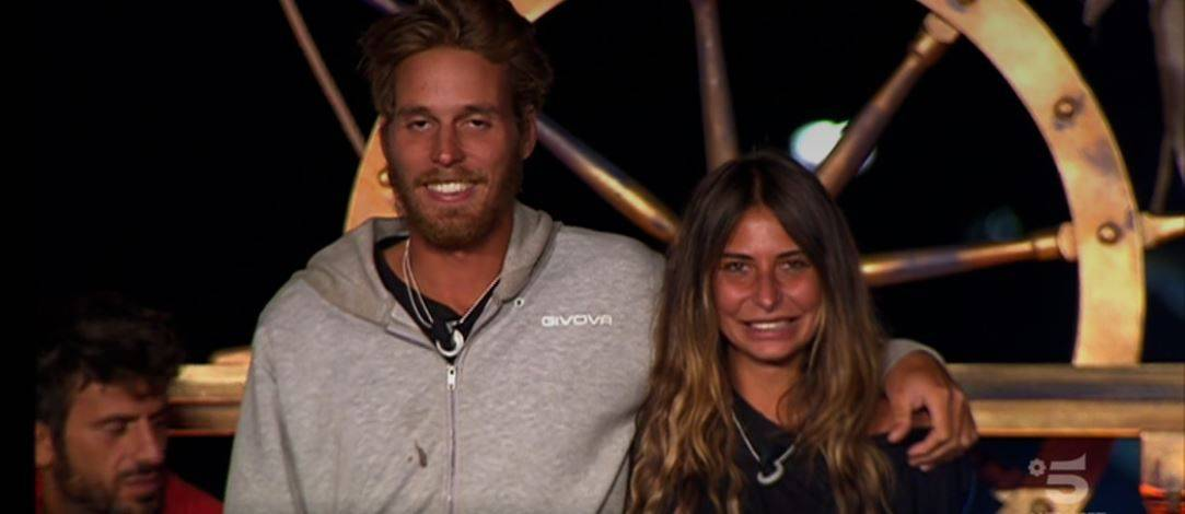 Aaron Nielsen e Sarah Altobello, Isola dei Famosi: l'eliminato è...