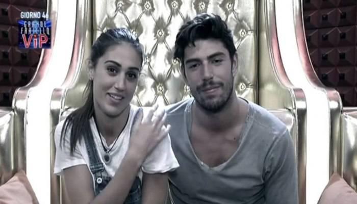 Ccecilia Rodriguez e Ignazio Moser