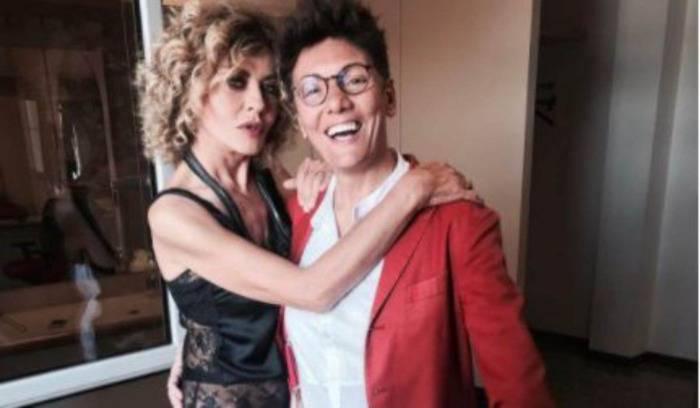 Imma Battaglia abito maschile, polemica al matrimonio con Eva Grimaldi