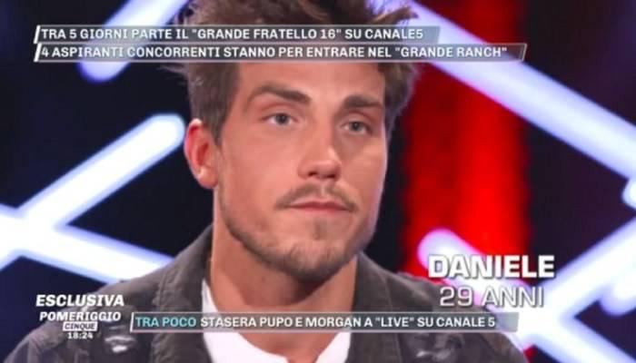 Daniele Dal Moro sorpresa al Gf 16: le lacrime del ragazzo