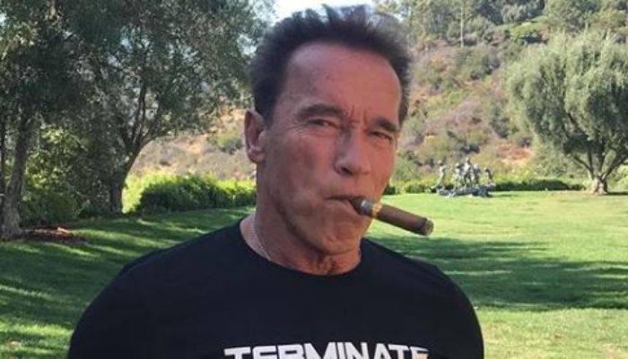Arnold Schwarzenegger aggredito con un calcio alle spalle a Johannesburg
