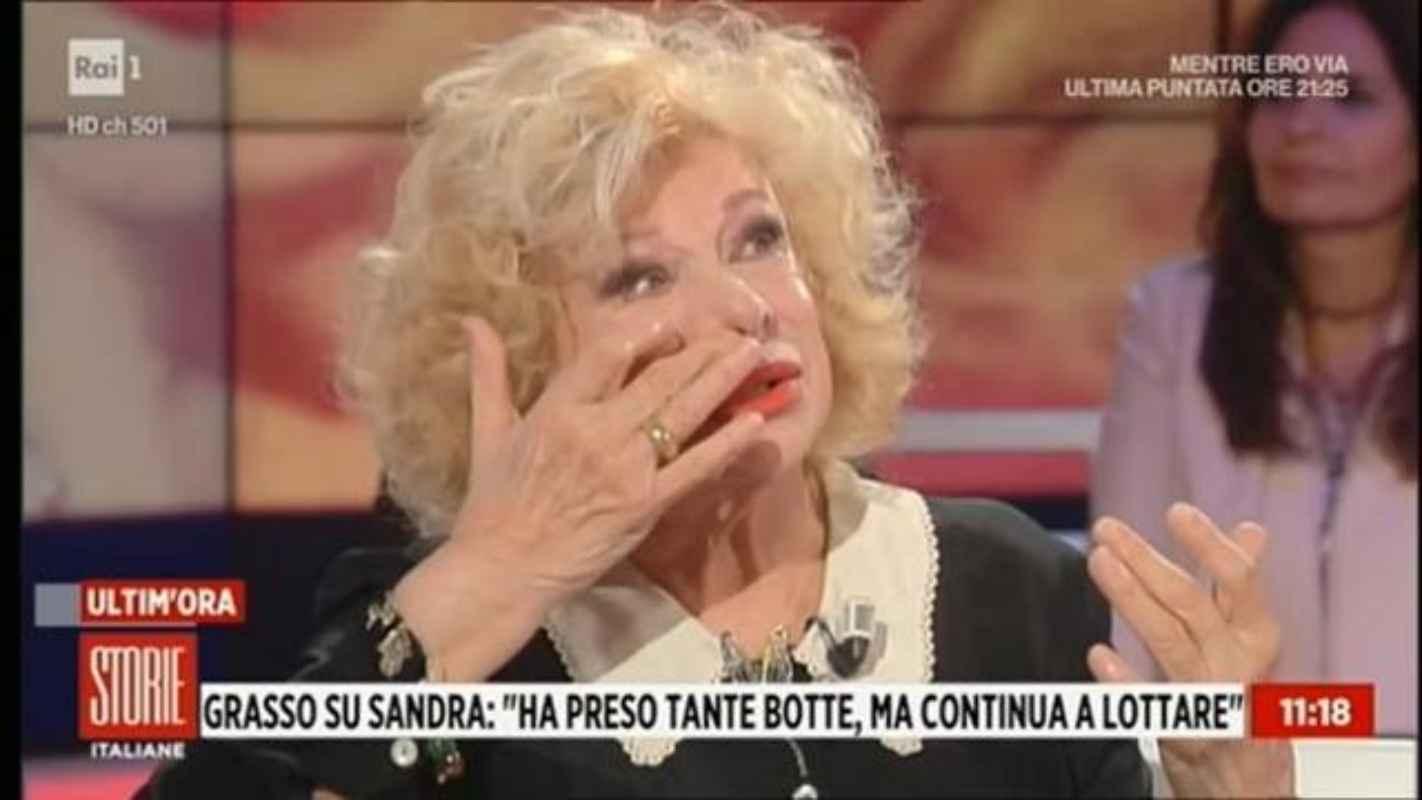 Sandra Milo confessione shock a Storie Italiane: le sue parole