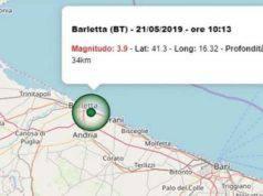 Terremoto Puglia, chiuse diverse scuole a Barletta, Trani e Molfetta
