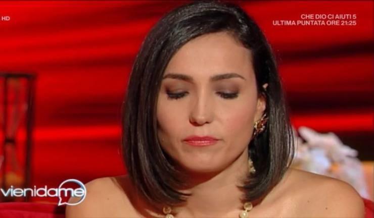 Caterina Balivo lacrime