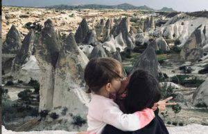 Francesca Fioretti con la figlia Vittoria
