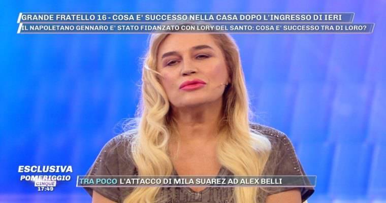 Lory Del Santo su Gennaro Lillio