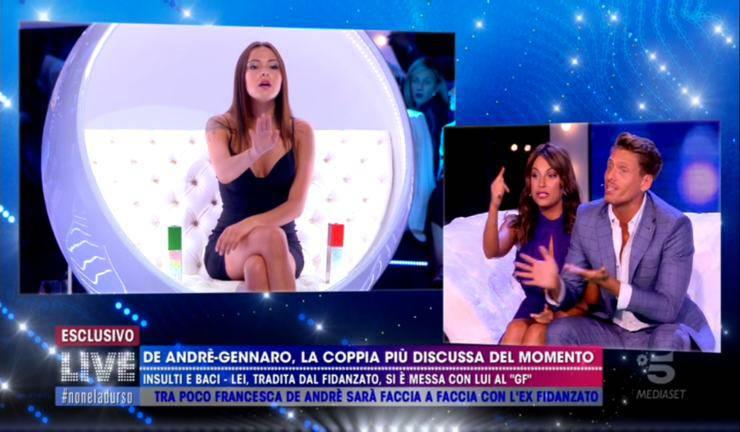 Martina Nasoni contro Francesca De André