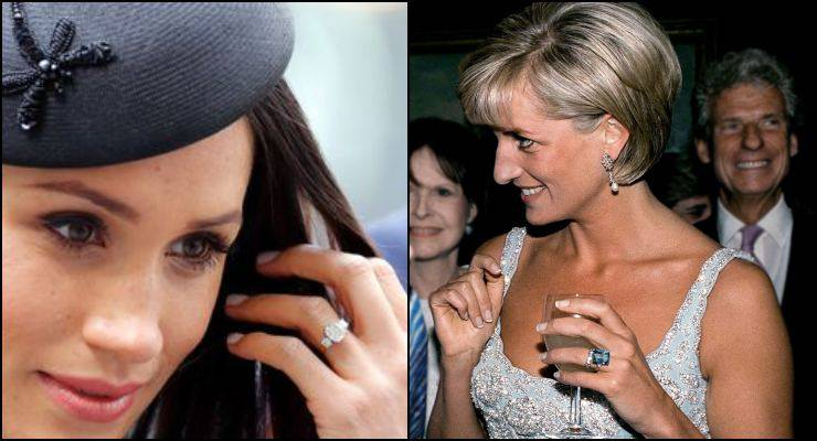Meghan Markle offende Lady D