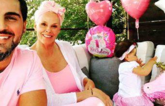 brigitte nielsen mamma a 54 anni della piccola Frida