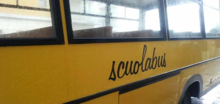 scuolabus dirottato cittadinanza onoraria