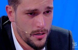 Andrea Zelletta lacrime