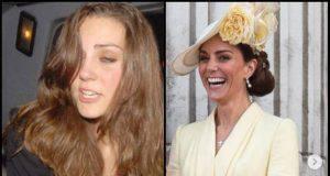 Kate Middleton irriconoscibile