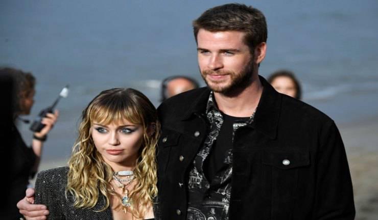 Miley Cyrus e Liam Hemsworth divorzio