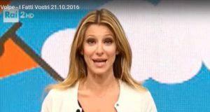 Adriana Volpe lacrime per Magalli