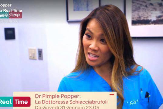Dr Pimple Popper, dottoressa schiacciabrufoli: un caso imbarazzante