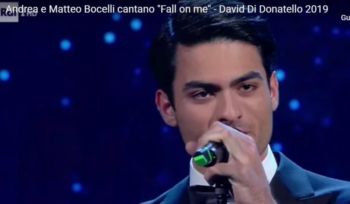 Matteo Bocelli figlio Andrea Bocelli