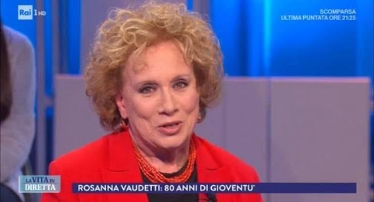 Rosanna Vaudetti e Pieluigi Diaco ballo: momento di commozione