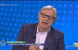 Vittorio Sgarbi parolaccia su Rai 1: cosa lo ha fatto infuriare?