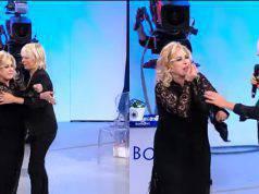 Tina CIpollari confronto Er Faina (1)
