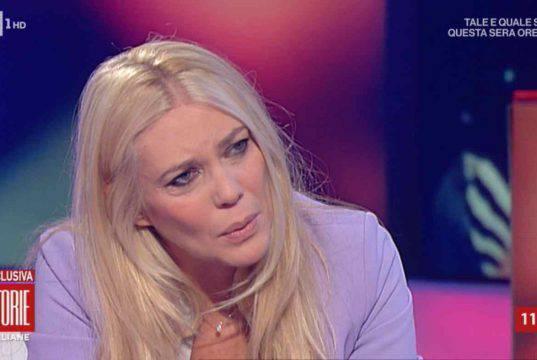 """Eleonora Daniele scrive alla figlia: """"Ti sento dentro di me"""""""