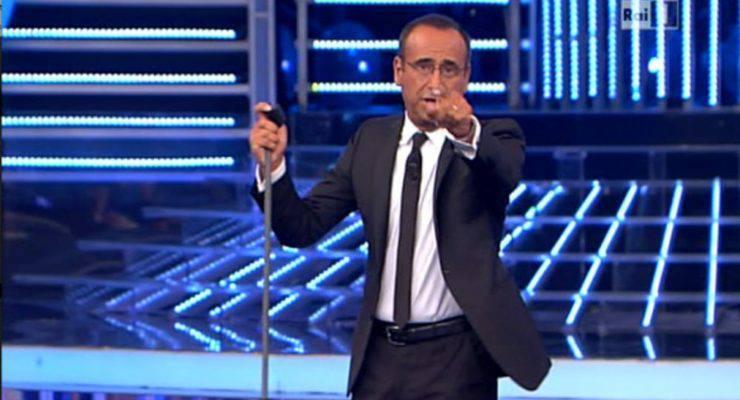 Carlo Conti in Tv