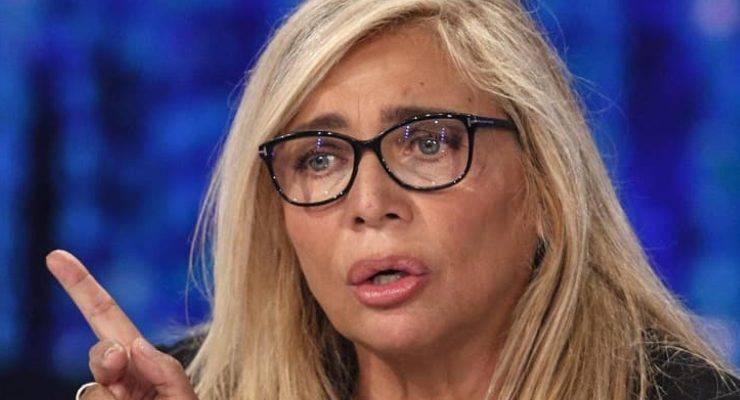 Mara Venier spavento a Domenica In