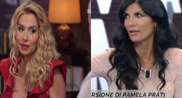 Valeria Marini e Pamela Prati