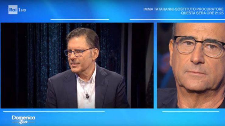 """Carlo Conti rivela: """"La figlia di Frizzi mi chiama Babbo Conti"""""""