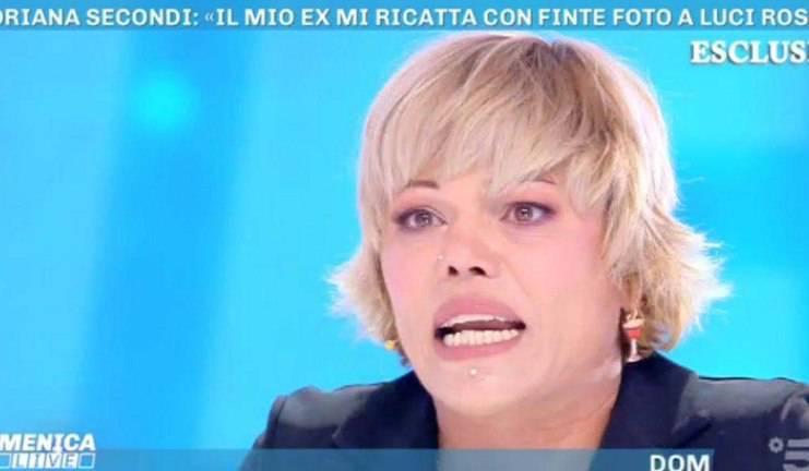 Floriana Secondi ricattata: ''Non esiste nessun video''