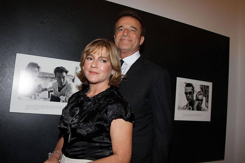 Silvia Verdone moglie Christian De Sica