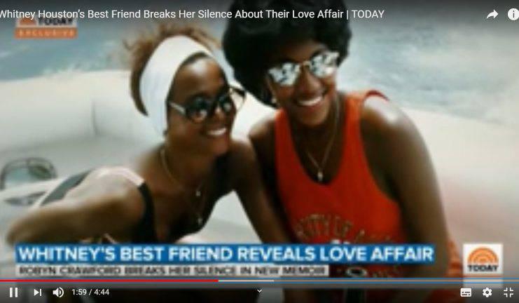 Whitney Houston amore segreto con Robyn Crawford